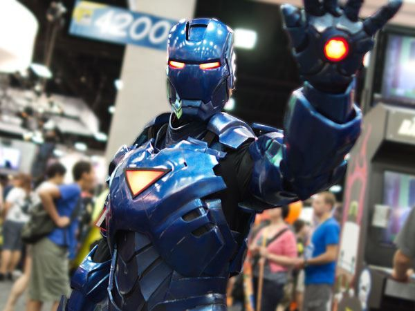 Stealth iron man cosplay w motorized faceplate tutorial stealth iron man by andrew makes things photo by david lee popular mechanics pronofoot35fo Image collections