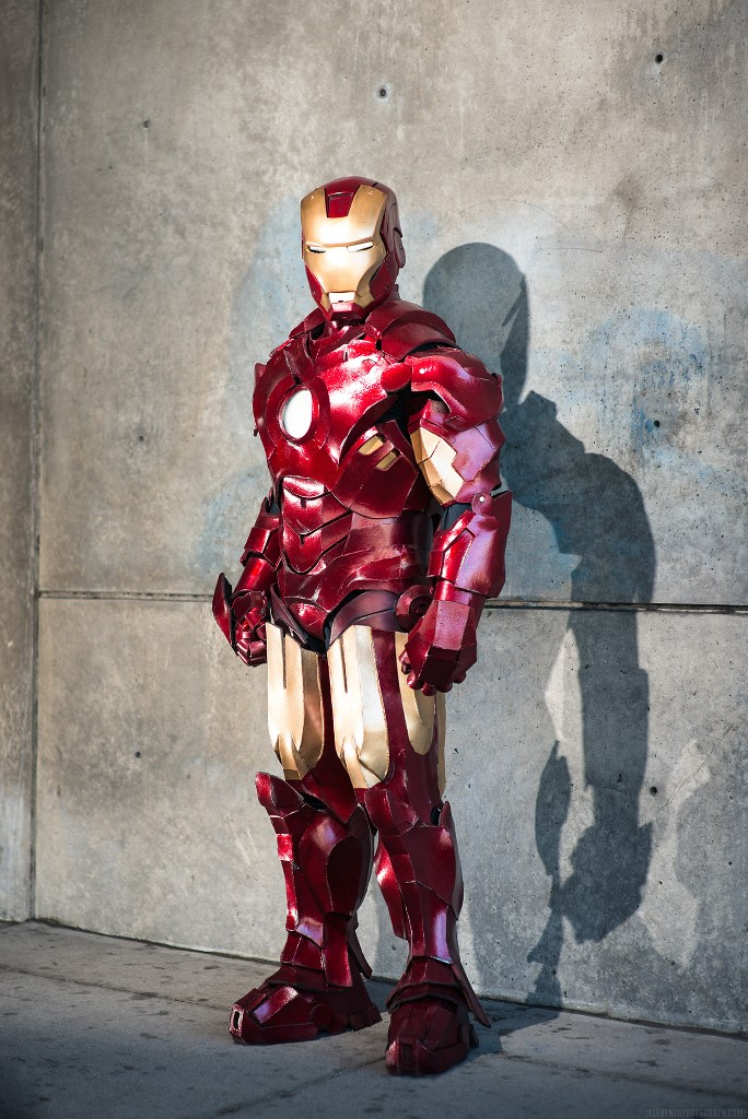 Iron Man Mk IV (Foam) by Andrew Makes Things Photo by Mike Kowalek