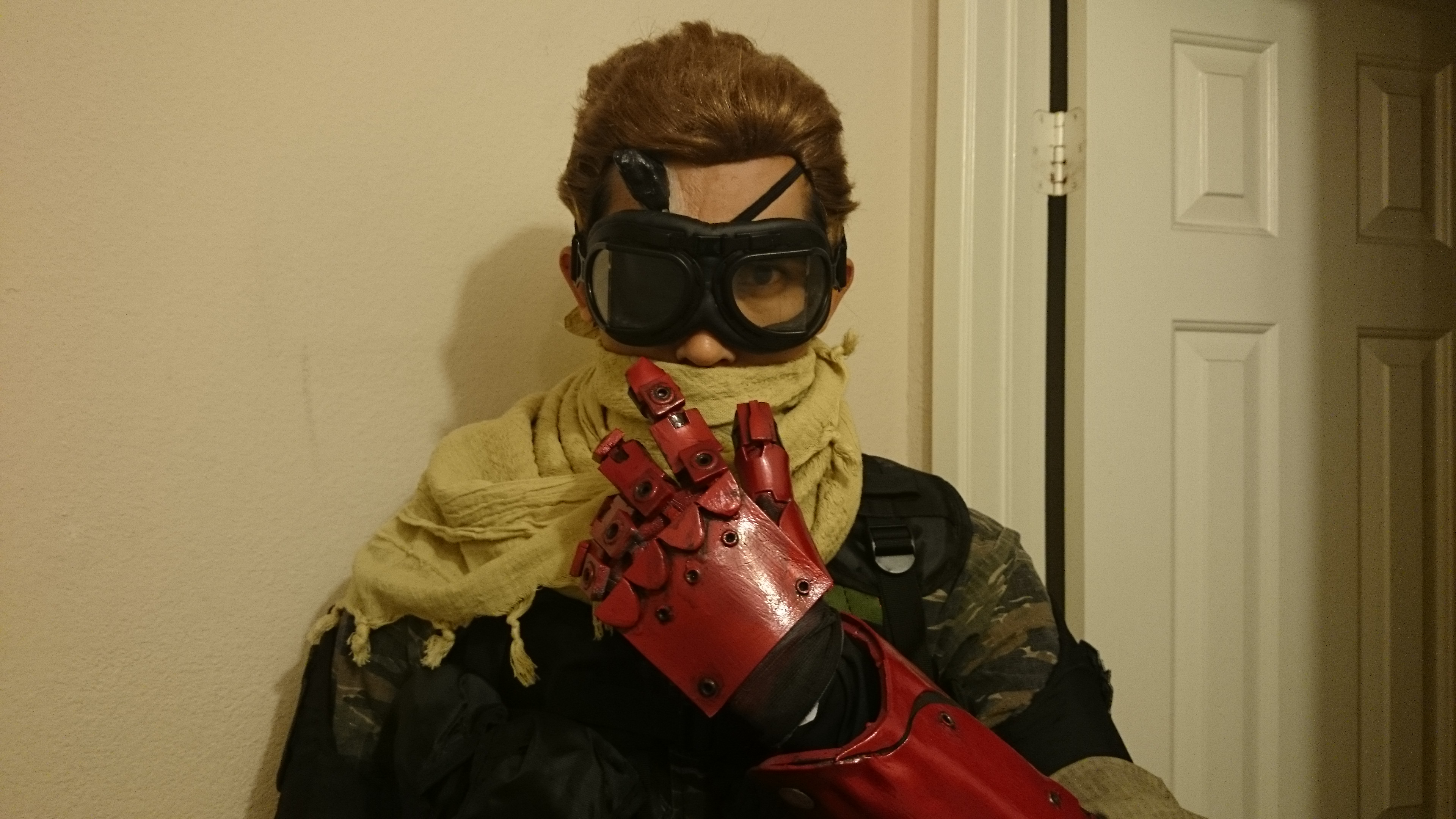 How To Cosplay Venom Snake Metal Gear Solid V The Phantom