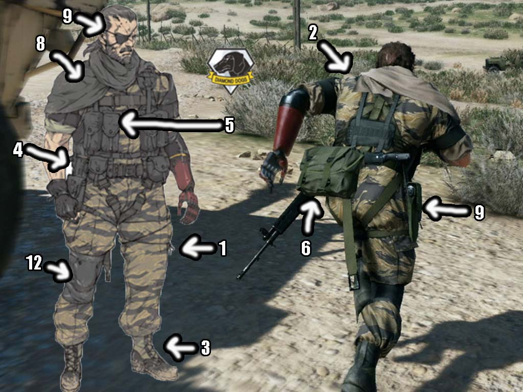 How To Cosplay Venom Snake Metal Gear Solid V The